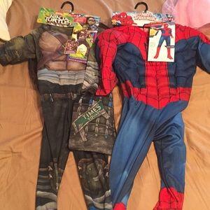 Boys halloween costumes brand new